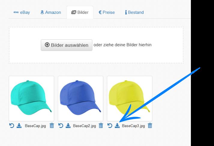Amazon Produktbilder herunterladen bei Eselt